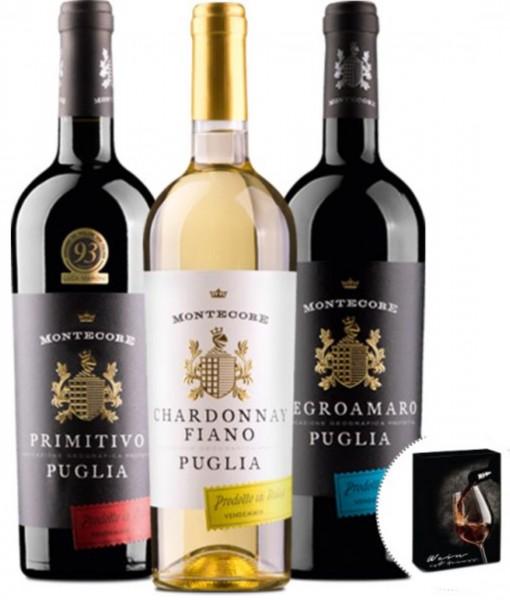 Wein-Geschenkbox Montecore Puglia