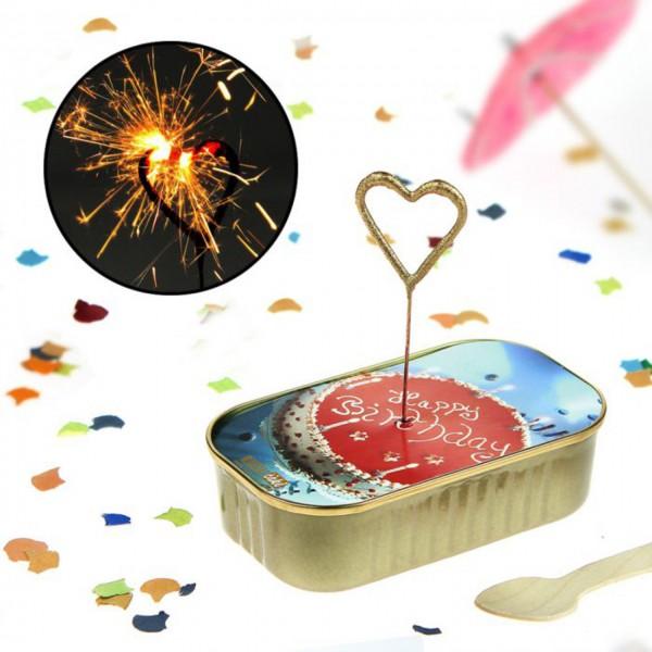 Dosen Kuchen zum Geburtstag