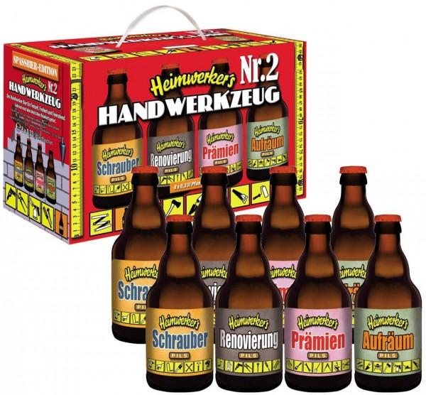 Heimwerker Handwerker Bier