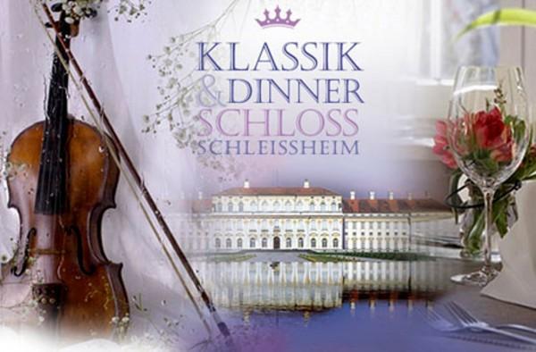 Konzertdinner in Schloss Schleißheim