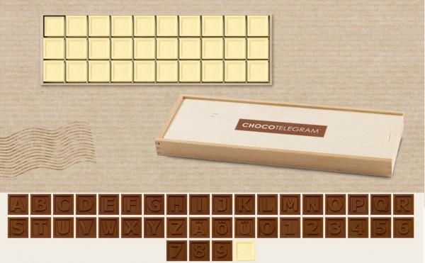 """""""EIGENES"""" Schokoladen-Telegramm erstellen"""