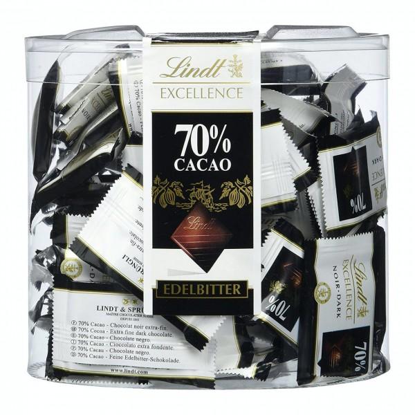 Lindt Excellence 70% Minischokoladentäfelchen