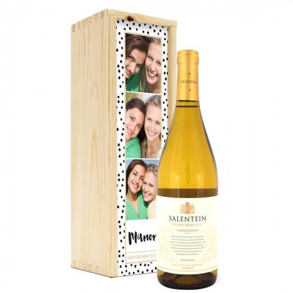 Wein in Holzkiste - Salentein Chardonnay