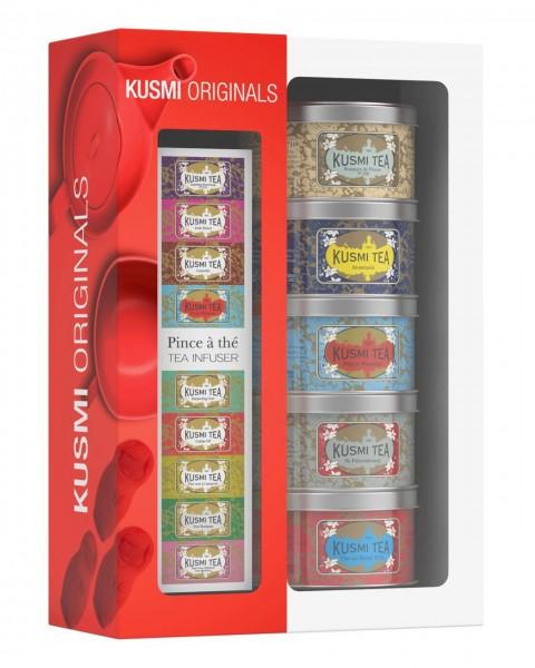Geschenkset Kusmi Originals + Teezange
