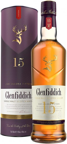 Glenfiddich Whisky 15 J.