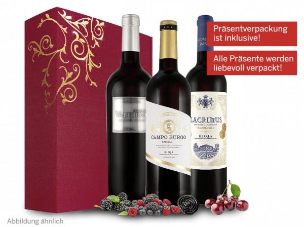 Spanisches Weingeschenk