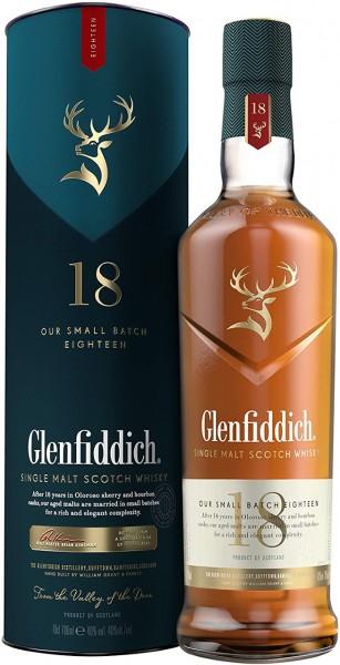 Glenfiddich Single Malt Whisky 18 Jahre