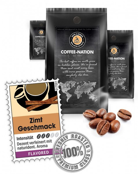 Coffee-Nation Aroma-Kaffee Zimt