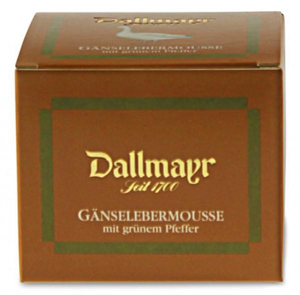 Gänselebermousse mit grünem Pfeffer Dallmayr