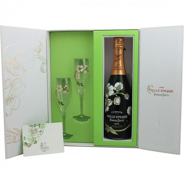 Perrier Jouet Champagner mit 2 Gläsern