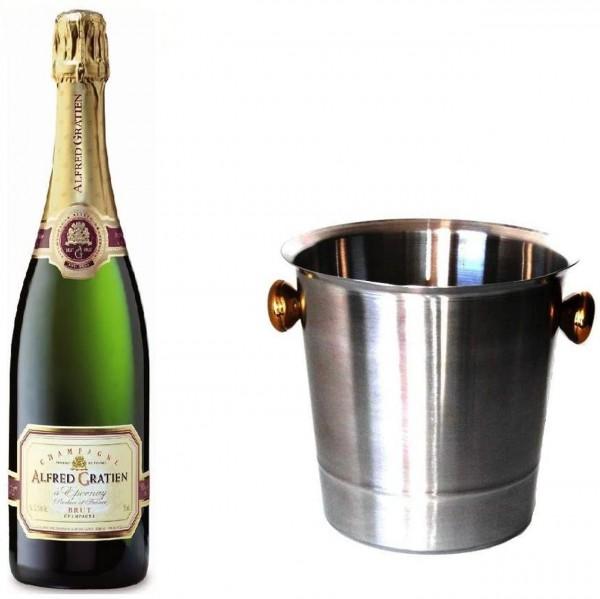 Alfred Gratien Champagner Brut und Kühler