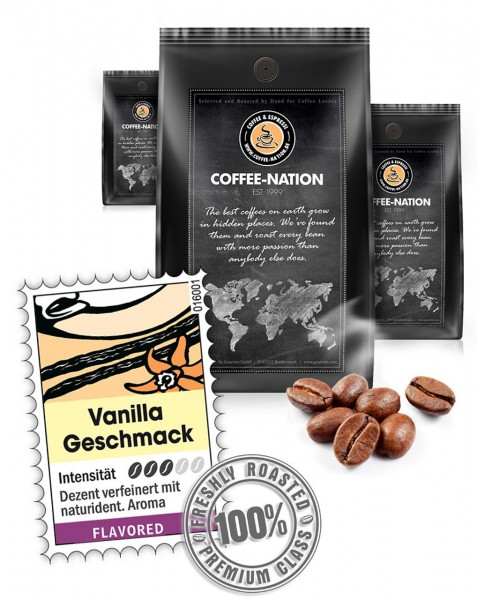 Coffee-Nation Aroma-Kaffee Vanilla