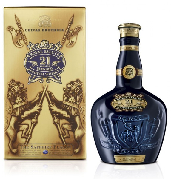 Chivas Regal Whisky Royal Salute 21 Jahre