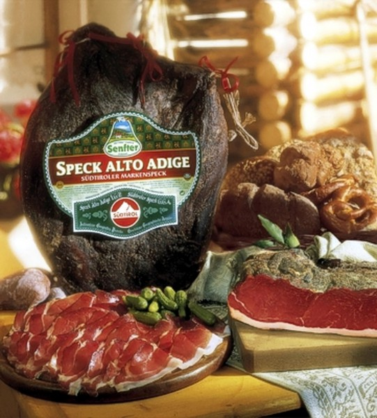 Südtiroler Speck Senfter, ca. 2,2 kg