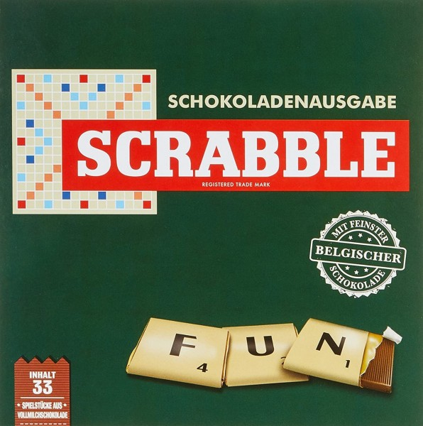 SCRABBLE Schokoladenspiel