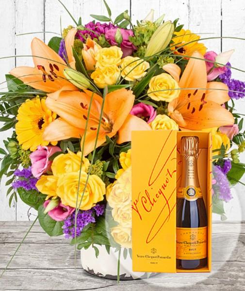Daylight und Champagner Veuve Clicquot