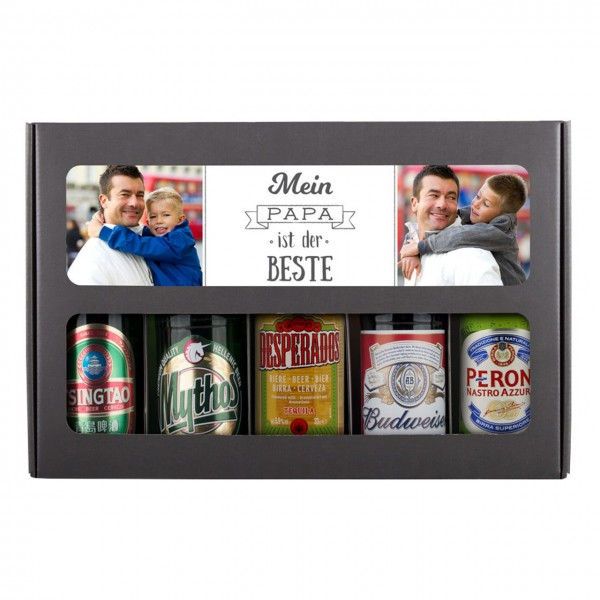 Bier-Set Internationale Biere