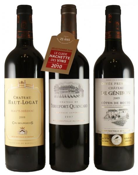 Bordeaux Genießer-Paket (3er Paket)
