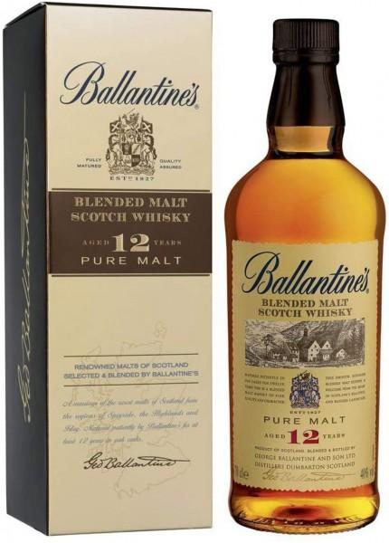 Ballantine's 12 Jahre Blended Malt Scotch Whisky