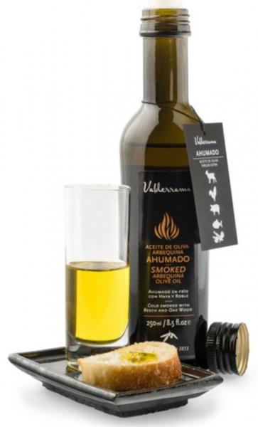 Geräuchertes Olivenöl
