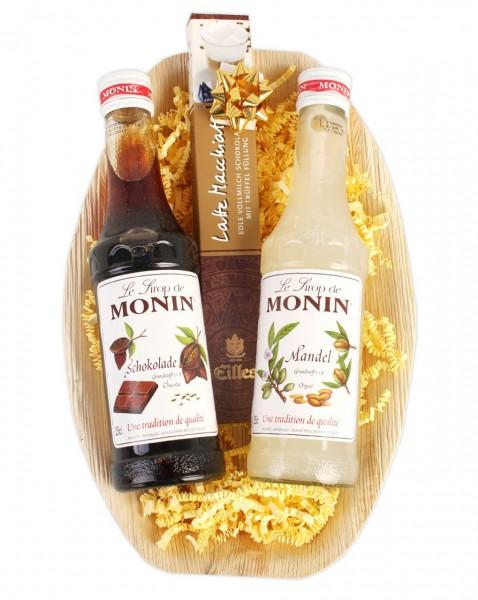 Geschenkset mit besten Monin Aromasirup