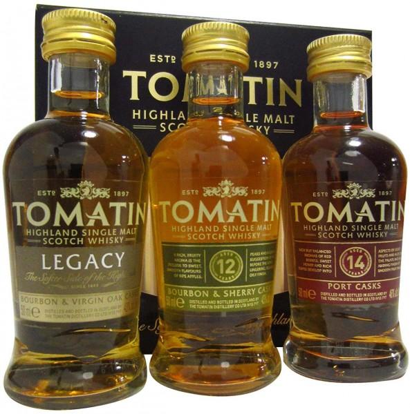 Tomatin Cooper's Choice Miniset Whisky