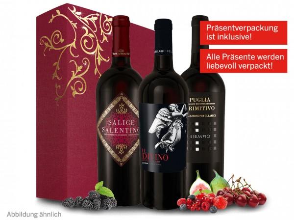 Italienisches Weingeschenk