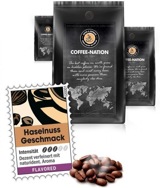 Coffee-Nation Aroma-Kaffee Haselnuss